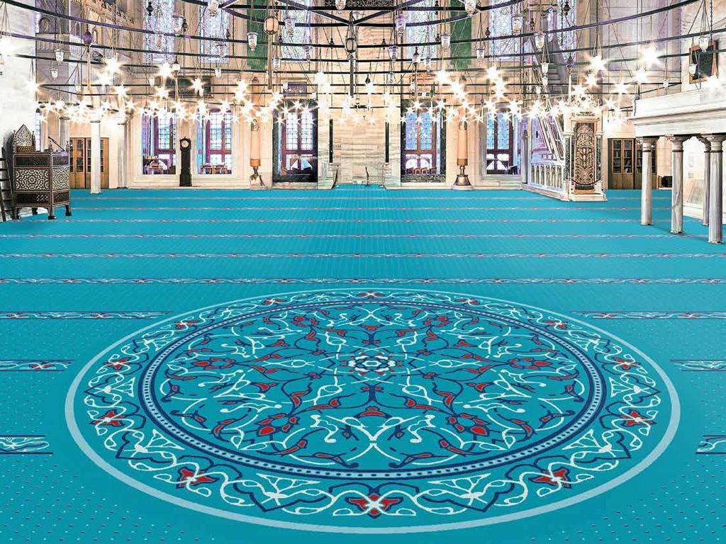 Akrilik Cami Halısı | Akrilik Halı Kaplama | Akrilik Halı Döşemesi